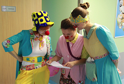 "On December 5, 2014 in the Federal Neurosurgical Center there was a press-conference of specialists of ""Hospital clowns NOS""."
